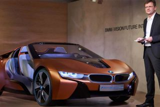 BMW's vision for the IoT car